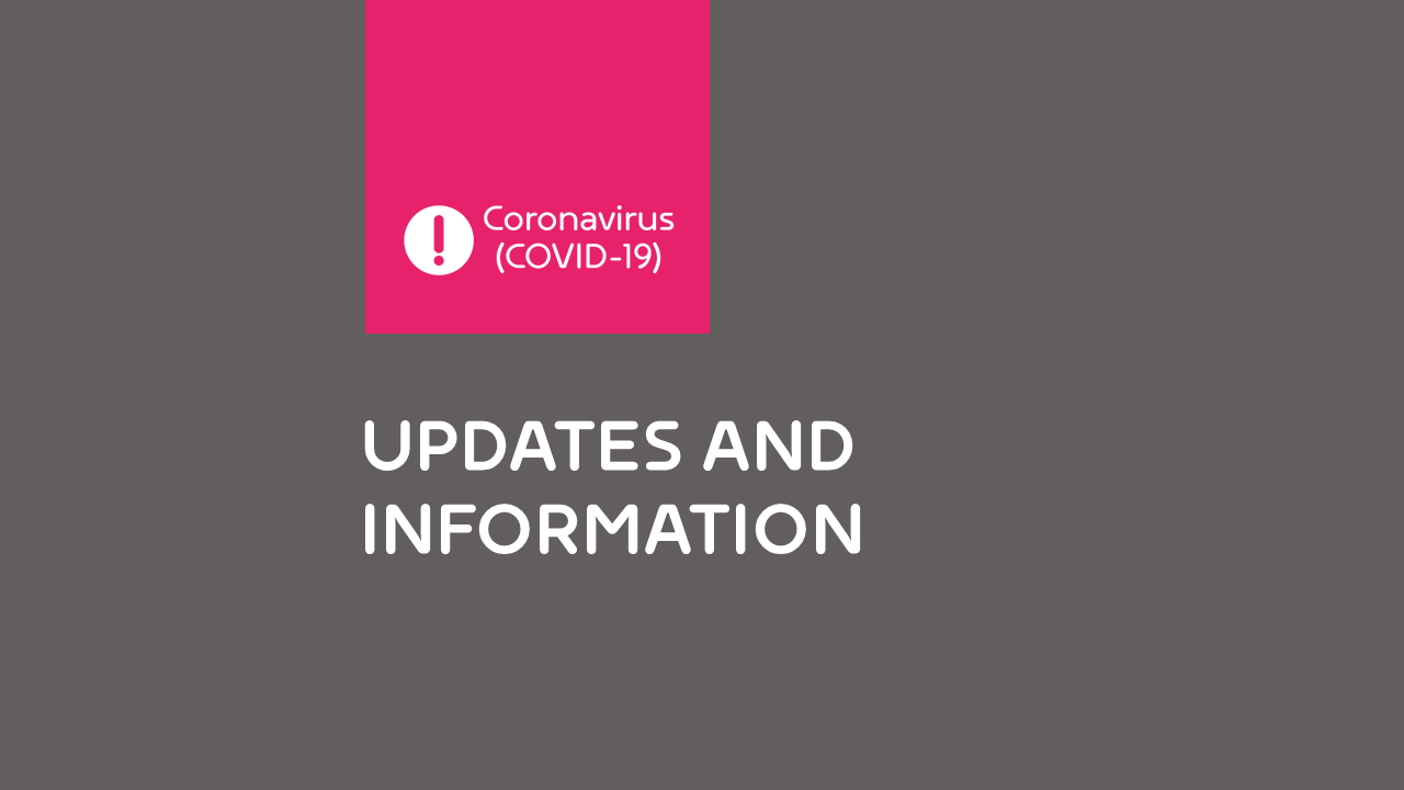 Covid 19 update and information