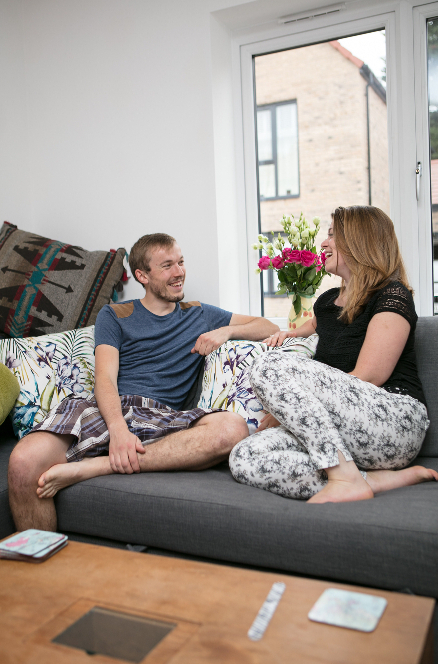 Young first-time buyers move to Mulberry Park with Help to Buy
