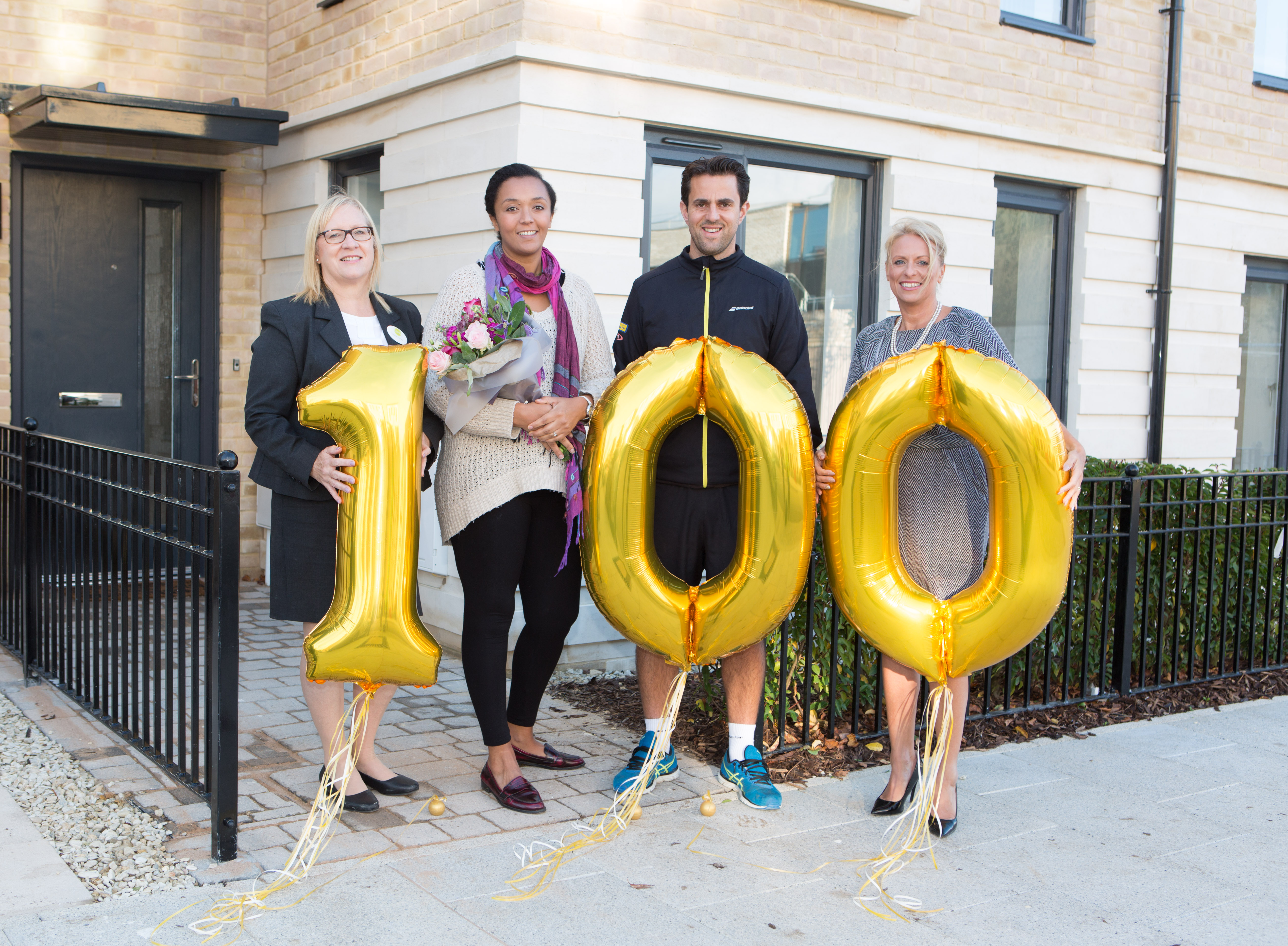 Curo welcomes 100th family to Mulberry Park