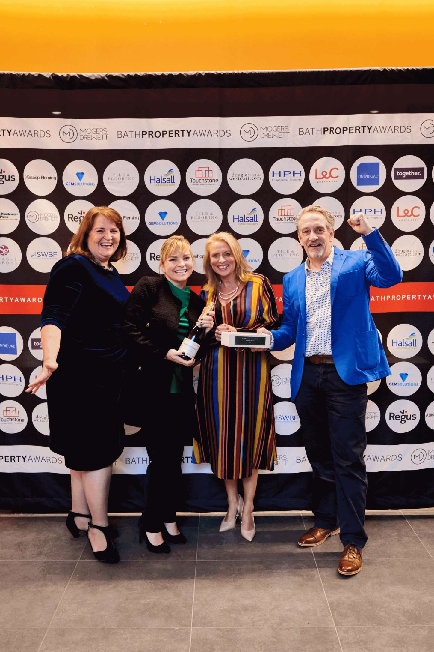 Curo scoops Developer of the Year 2018 title at Bath Property Awards