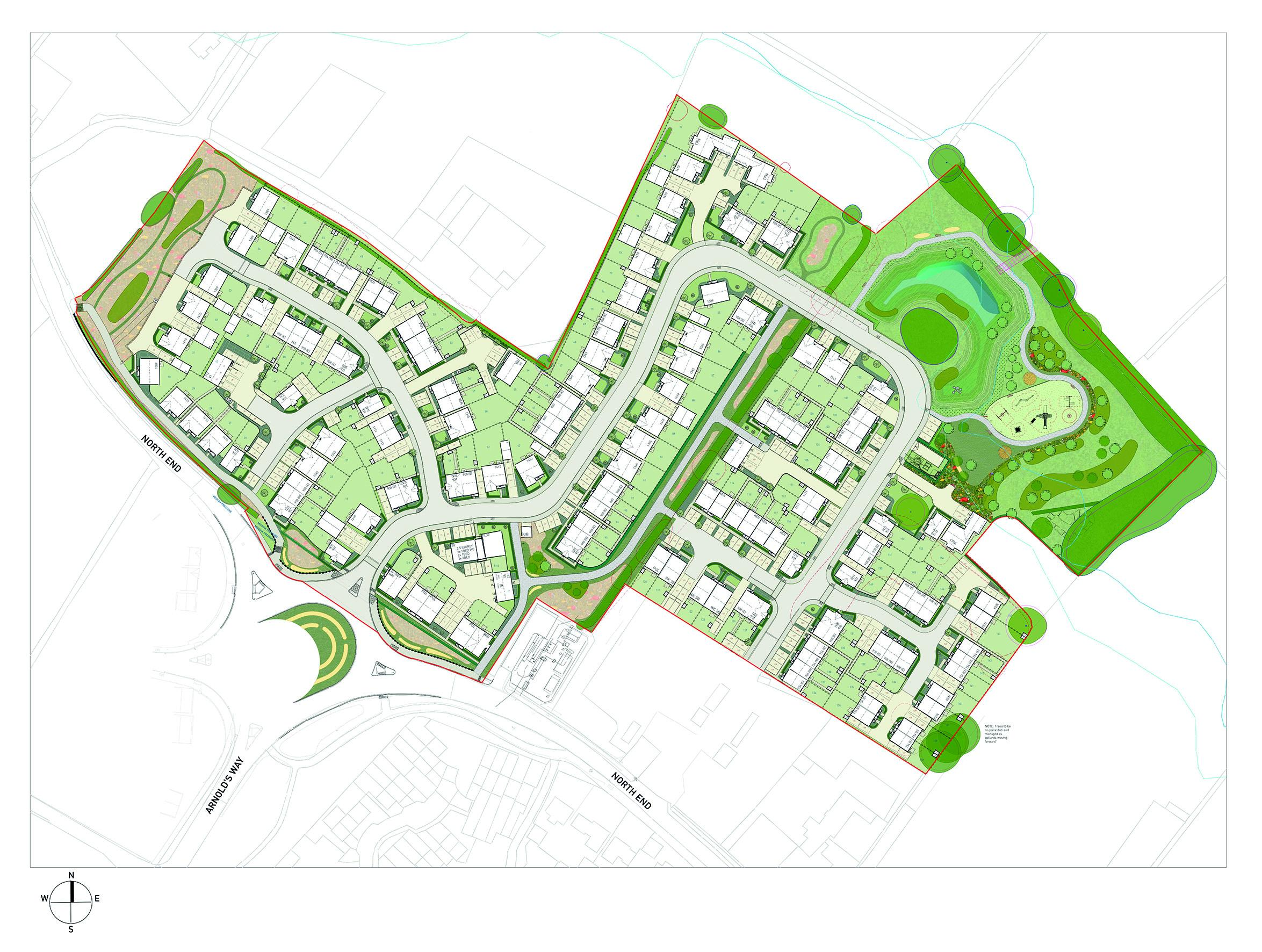 Curo to build 154 new homes in Yatton, North Somerset