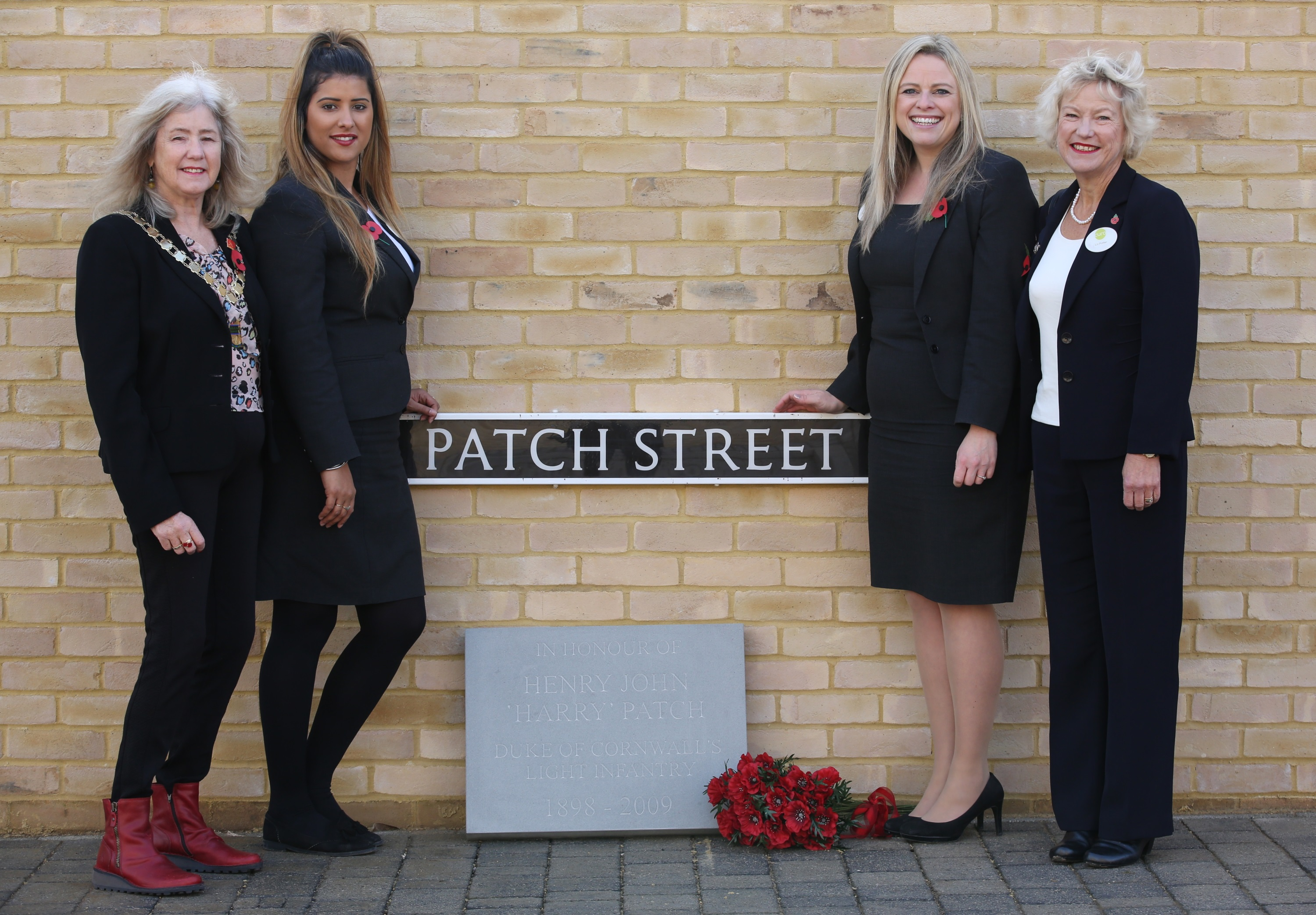 Paving the way to honour Combe Down's fallen