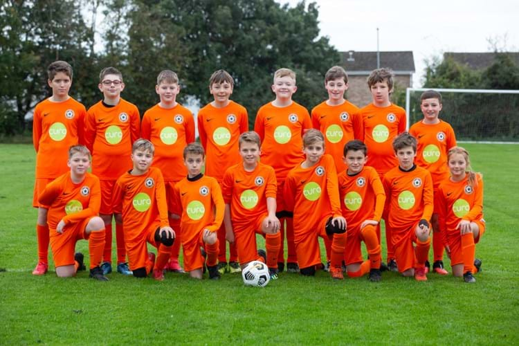 Yatton Junior Football Club scores sponsorship from housebuilder Curo
